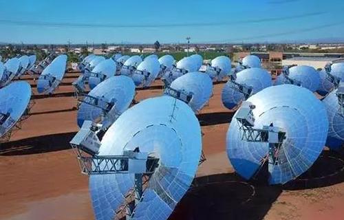Sensible heat storage of solar radiation thermal energy storage